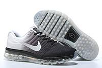 Кроссовки Nike Air max 2017 Черные-белые . кроссовки найк мужские, фото 1