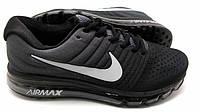 Кроссовки мужские Nike air max 2017 черно-серые