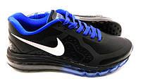 Кроссовки мужские Nike Air max 2014 Black-blue