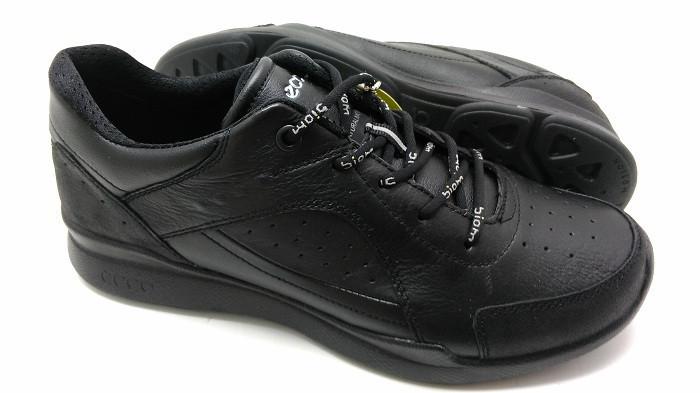 Мужские кроссовки Еcco Evo черные