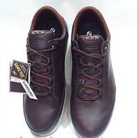 Мужские ботинки Еcco Evo коричневые кожа
