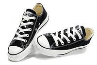 Кеды мужские Converse All Star low черные , фото 1