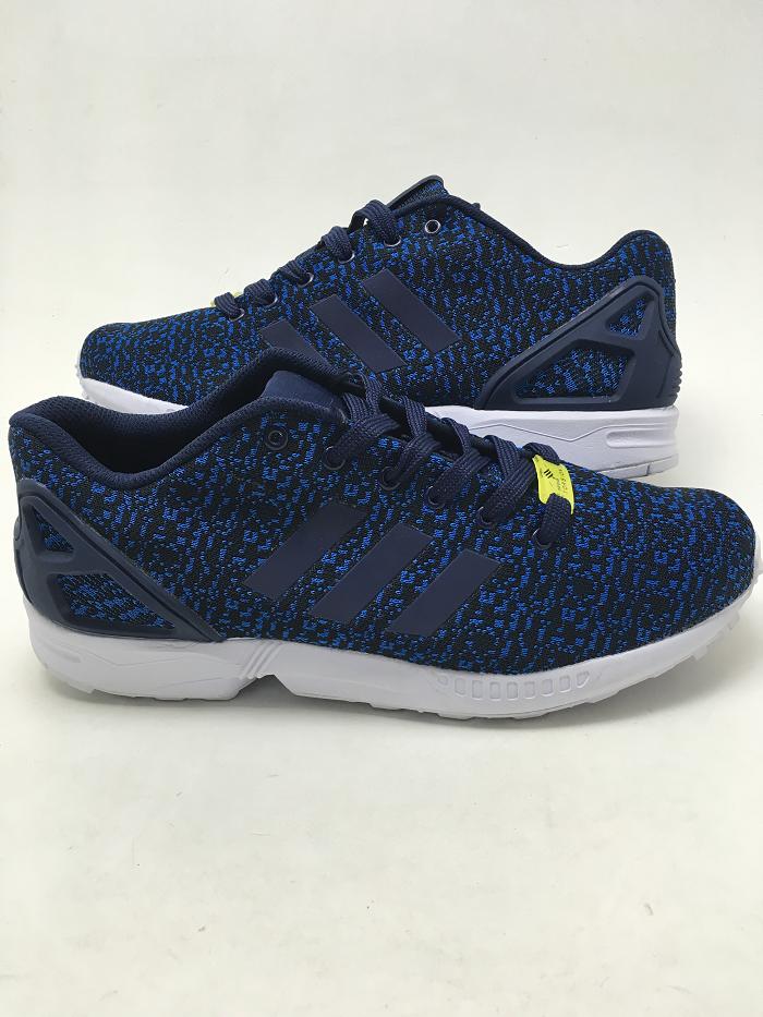 best cheap 940e2 4dde0 Кроссовки мужские Adidas ZX Flux Flyknit синие кроссовки адидас 41 - Bigl.ua