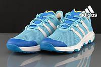 Кроссовки Adidas Voyager голубые мужские
