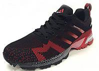 Мужские кроссовки Adidas Marathon TR 15 Black-red