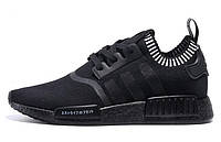 Кроссовки мужские Adidas s NMD Runner Black-white , фото 1