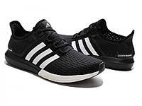 Кроссовки мужские Adidas Gazell Boost  черные