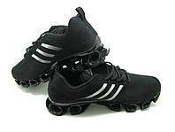 Кроссовки Adidas Flyknit черные беговые кроссовки