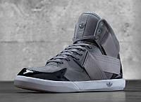Кроссовки мужские Adidas C10 s Grey Suede