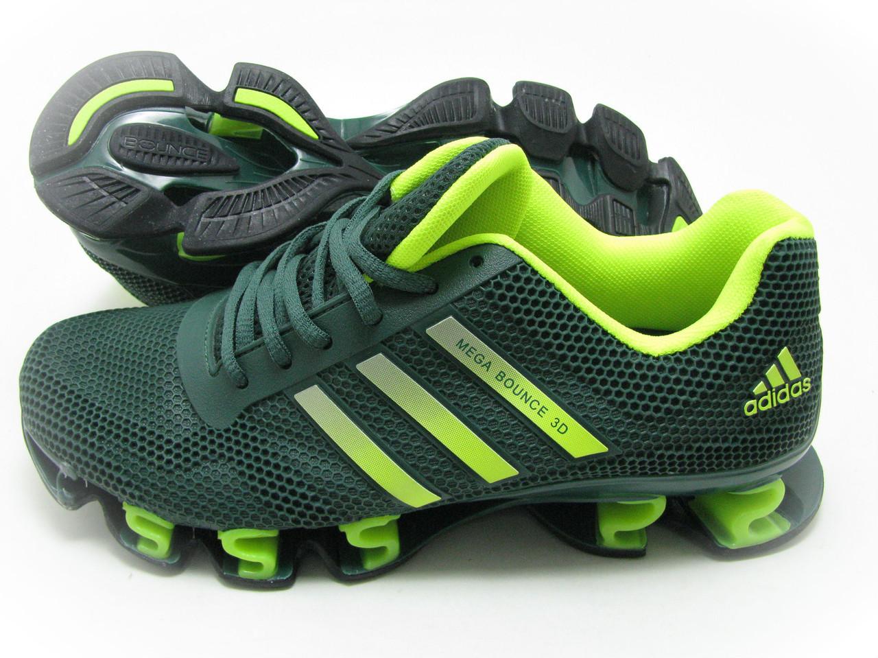 Мужские кроссовки Adidas Bounce green , фото 1