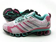 Кроссовки женские Adidas Megabounce Бело-розовые , фото 1
