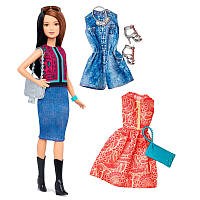 Кукла Барби и наборы одежды Barbie Fashionistas Fashions Pretty In Paisley