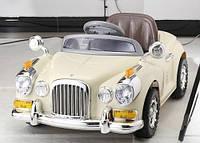 Детский электромобиль в ретро стиле