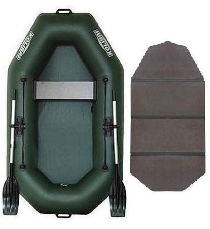 Kolibri К-220 book - лодка надувная одноместная Колибри 220 с жестким настилом