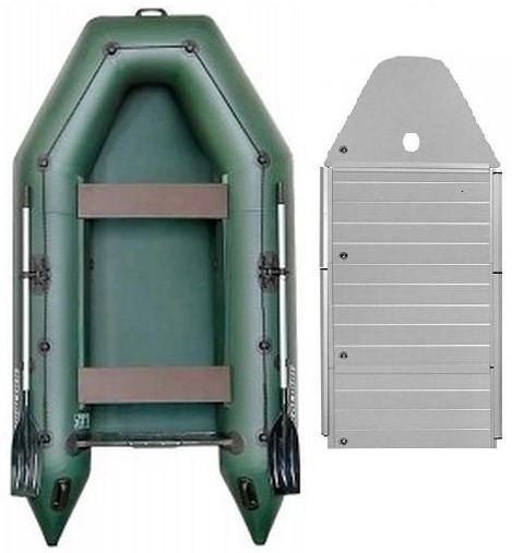 Kolibri KM-300D alum - лодка килевая моторная Колибри КМ 300 Д с алюминиевым настилом