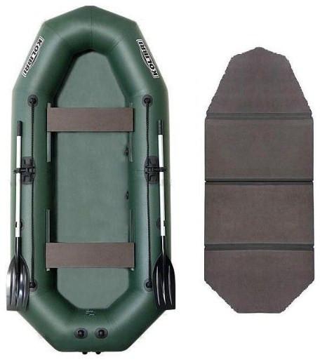 Kolibri К-250Т book - лодка надувная Колибри 250 с жестким настилом книжкой