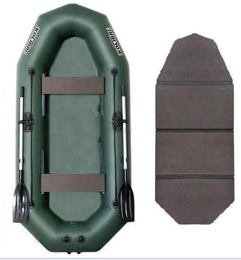 Kolibri К-270Т book - лодка надувная Колибри 270 с жестким настилом