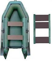 Kolibri КМ-280 rug - лодка надувная моторная двухместная Колибри 280 с реечным ковриком