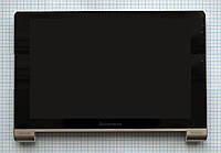 Модуль (дисплей + сенсор) Lenovo B8000 Yoga Tablet 10 with frame silver original