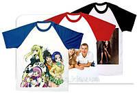 Печать на футболках, кепках, сумках, зонтах, сублимация
