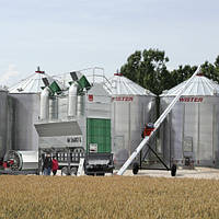 Мобильная вакуумная зерносушилка MEPU 4500 L
