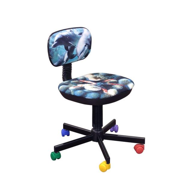 Кресло детское Бамбо Дизайн ― 5 Дельфины.