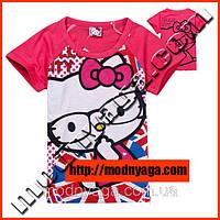 Кофта с коротким рукавом для девочек - Hello Kitty