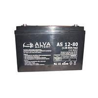 Аккумуляторная батарея ALVA AS12-80 (Solar-GEL)