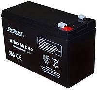 Аккумуляторная батарея AINO MICRO АМ 12-7,0 7 А (AGM), фото 1