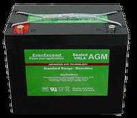 Аккумуляторная батарея STANDARD RANGE ST-1255 55 А (AGM), фото 1