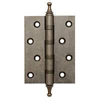 Петли дверные Armadillo универсальные 500-AC4 100x75x3 AS Античное серебро