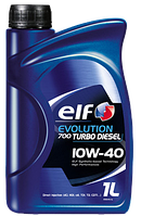 Моторное масло ELF Evolution 700 Turbo Diesel 10W40  (1 Liter)