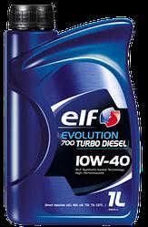 Моторное масло ELF Evolution 700 Turbo Diesel 10W40  (1 Liter)