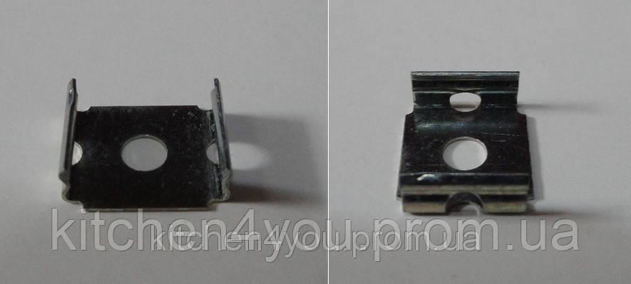 ЛК клипса для крепления накладного профиля ЛПС 12 и ЛПС 17, цинк