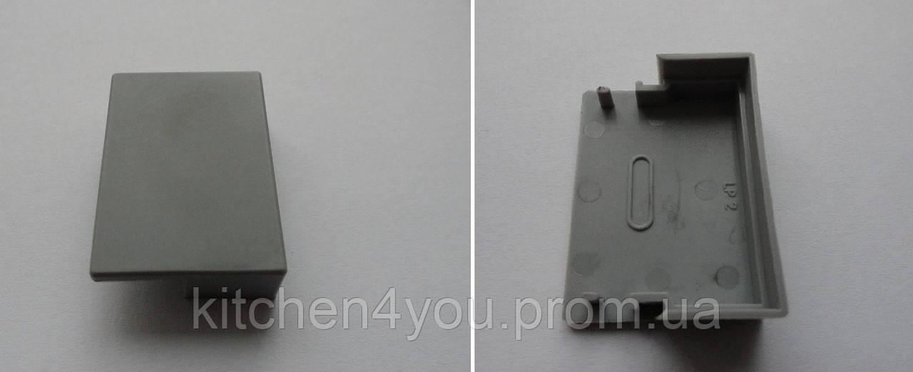 ЗСП заглушка для профиля ЛСО с рямоугольным рассеивателем РСП
