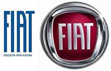 Вії на фари Fiat