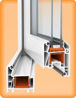 Металлопластиковые окна WDS (1300х1400)