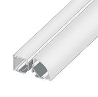 ЛСУ алюминиевый угловой профиль для светодиодной ленты, 15,3 х 7,6 мм.
