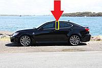 Lexus IS IS250 IS350 ISF молдинг накладка на заднюю левую дверь дверную стойку Новая Оригинал