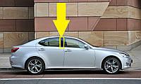 Lexus IS IS250 IS350 ISF 2006-2013 накладка вертикальная молдинг на заднюю правую пассажирскую дверь Новый Ори