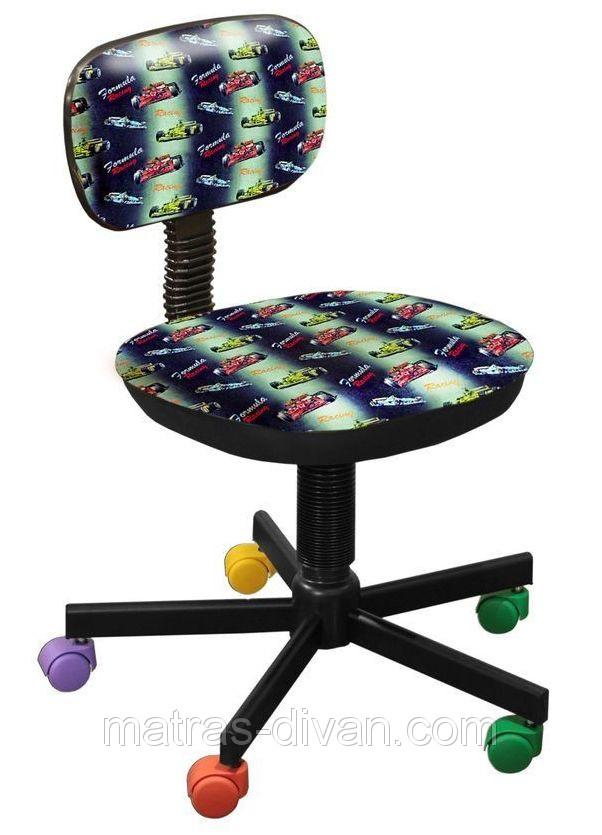 Кресло детское Бамбо Дизайн ― Машинки.