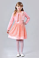 Стильный детский костюм из платья и болеро