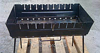 Мангал-чемодан (10 шампуров), разборной, компактный CHZ