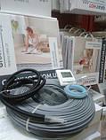 10m2 Тепла підлога електричний GrayHot на 10м2 + регулятор (кабель 102м двожильний), фото 4