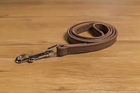 Поводок кожаный двухлицевой двойной Before 8220 (Бефор) 1,2 м/10 мм