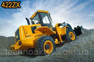 422ZX WLS 422 ZX Максимальная грузоподъемность 1.7m3 Максимальная мощность двигателя 93кВт Эксплуатационная масса 11900кг