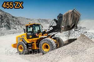 455 ZX  Максимальная грузоподъемность 3.1м3 Максимальная мощность двигателя 165кВт Эксплуатационная масса 17880кг 455 ZX