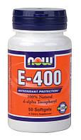 Витамин Е, Natural E-400 (50 softgels)