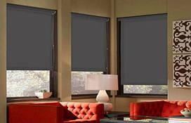 Тканевые рулонные шторы Black out (блэкаут)