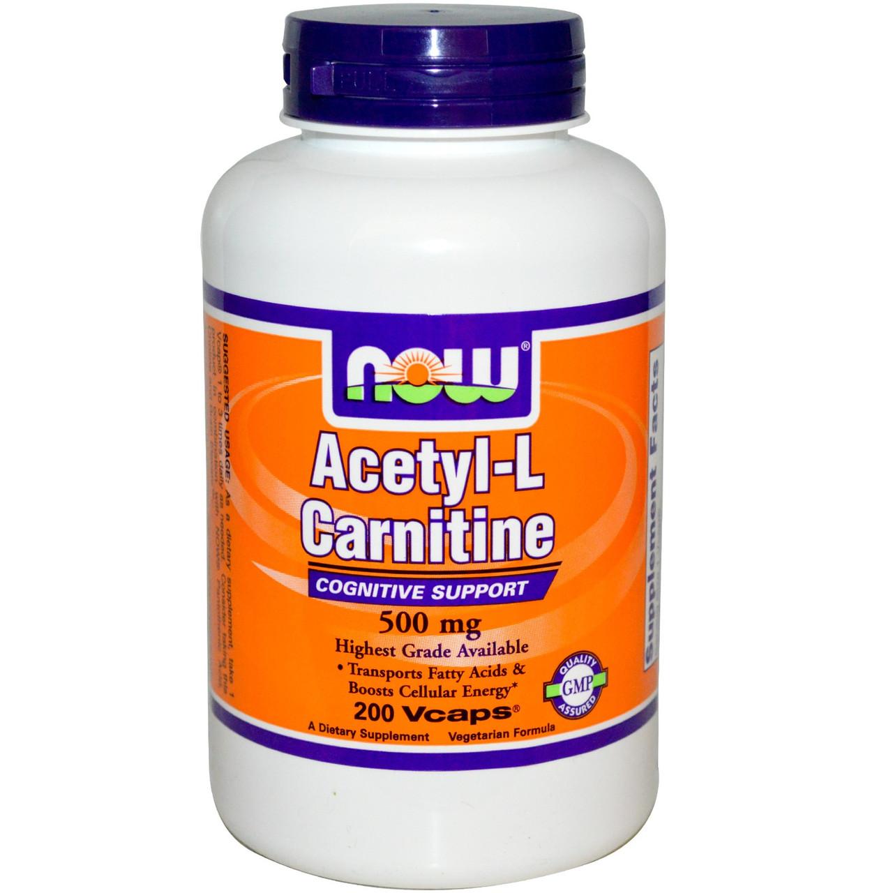 Acetyl-L-Carnitine 500 (200 veg caps)